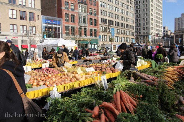 Union Square Farmers Market | thebrownshed.com