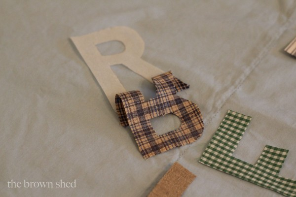 personalized pillow cases | the brown shed