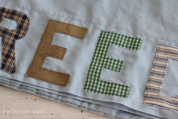 personalized pillow cases | thebrownshed.com