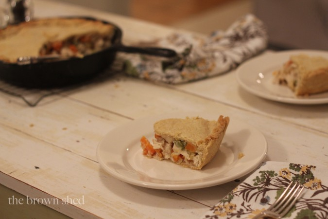 homemade chicken pot pie | thebrownshed.com