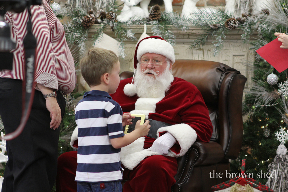 Santa | thebrownshed.com