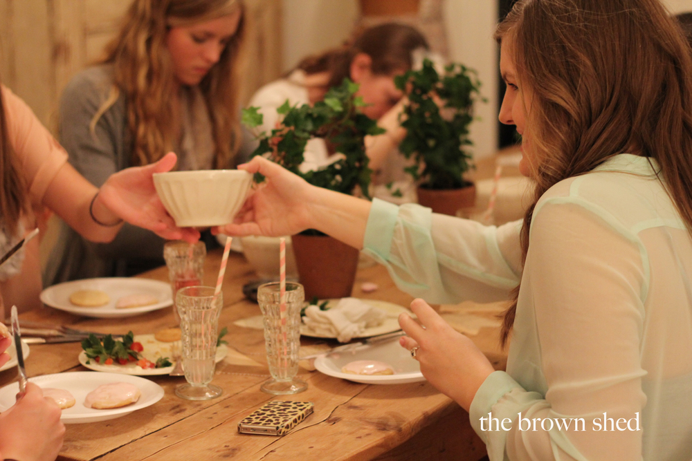 Valentine Party |  thebrownshed.com