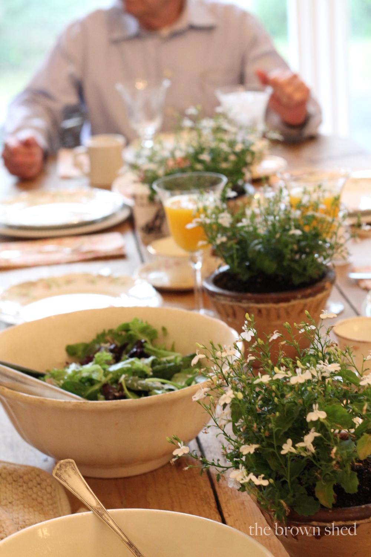 Easter brunch | thebrownshed.com