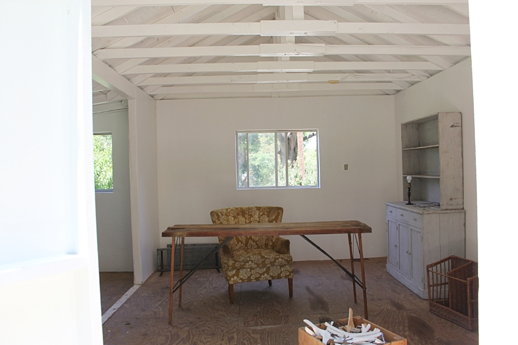 shed - paint interior