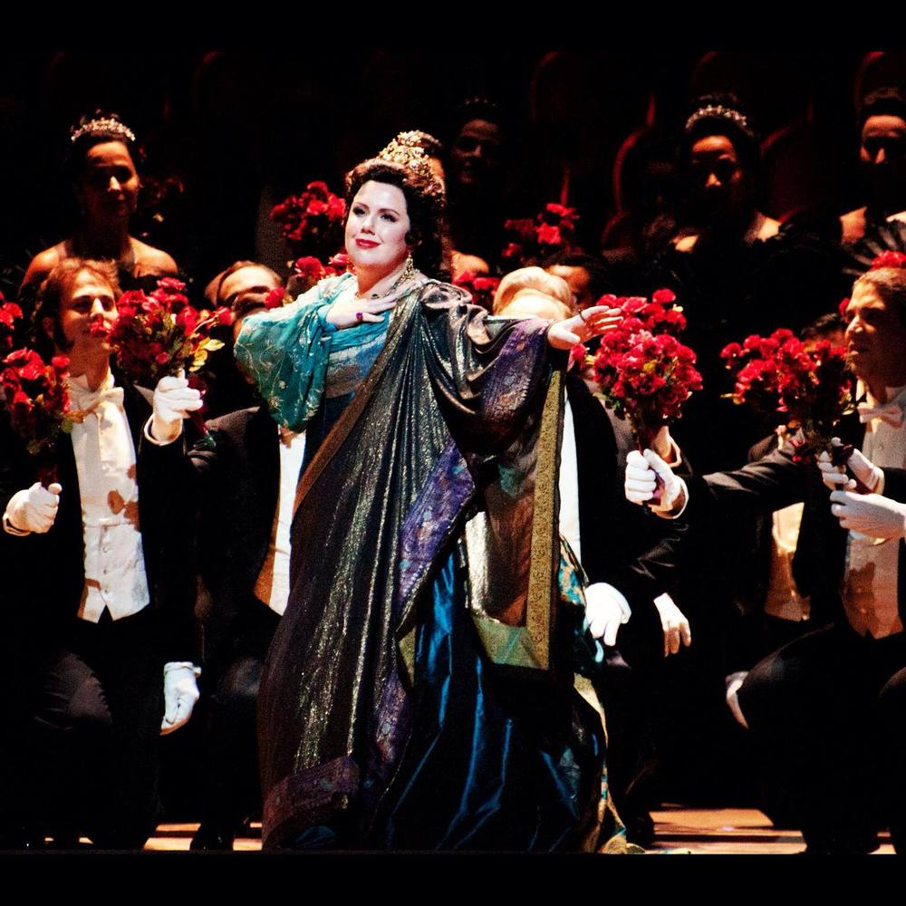 As Elena in  Mefistofele,  San Francisco Opera, 2013  Photo credit: Scott Wall