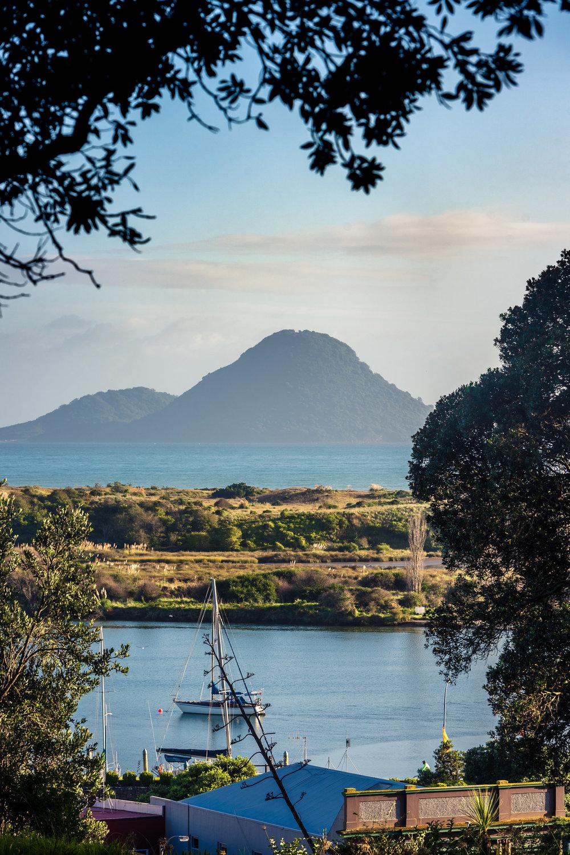 Whakatāne Morning View Towards Moutohorā
