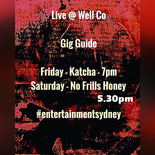 #livemusic #livemusichub @entertainmentsydney #thisweek #allgenres #cafe #restaurant #glutenfree #meals #music #fridays #saturday #glebe #glebelife