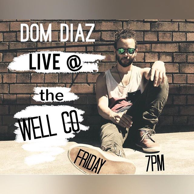 Come on down and check out @d0mdiaz #friday live @wellco.glebe 7pm to 10pm ! #glebe #livemusic #glebepointroad #onemanband #vocals #looping #bvs #brass #beats #restaurant #cafe #winebar #livemusicbar #desserts #coffee #tea #dinner #musolife