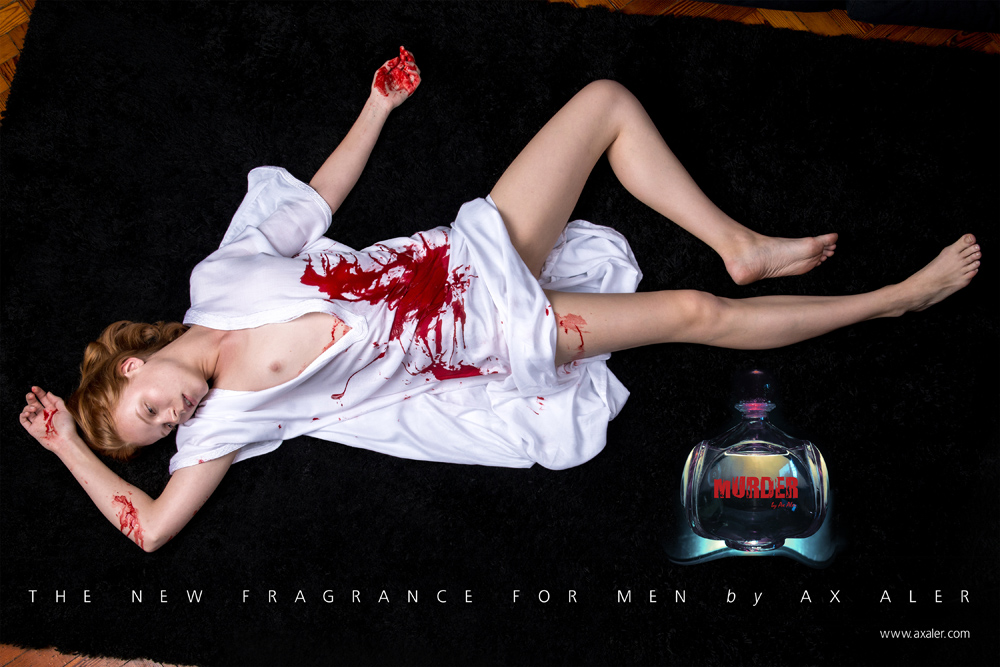 Murder I - The new fragrance for men by Ax Aler, 2014.