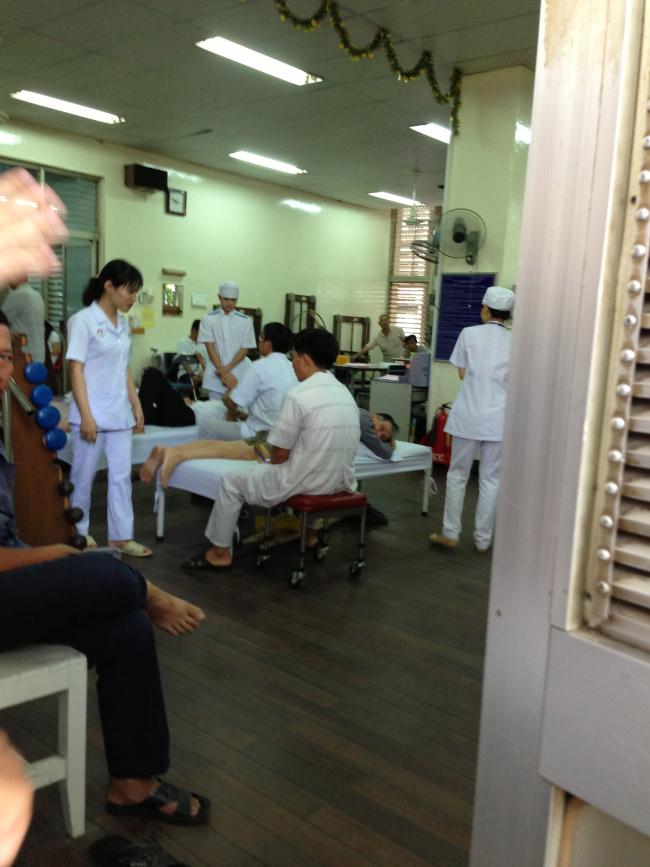 Một phòng khám trong bệnh viện