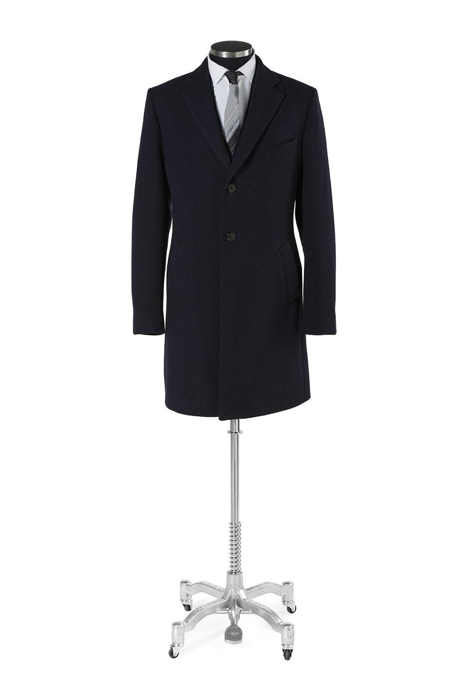Mantel Wolle aus Mass