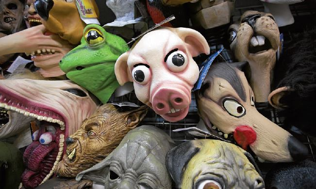 Eddie's Trick Shop in Marietta has 2,500 costumes , as well as masks, wigs and makeup.