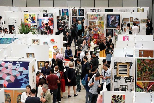 Tokyo International Art Fair 2017 @tokyointernationalartfair #tokyointernationalartfair #tiaf2017 #contemporaryart #painting #drawing #sculpture #globalartagency