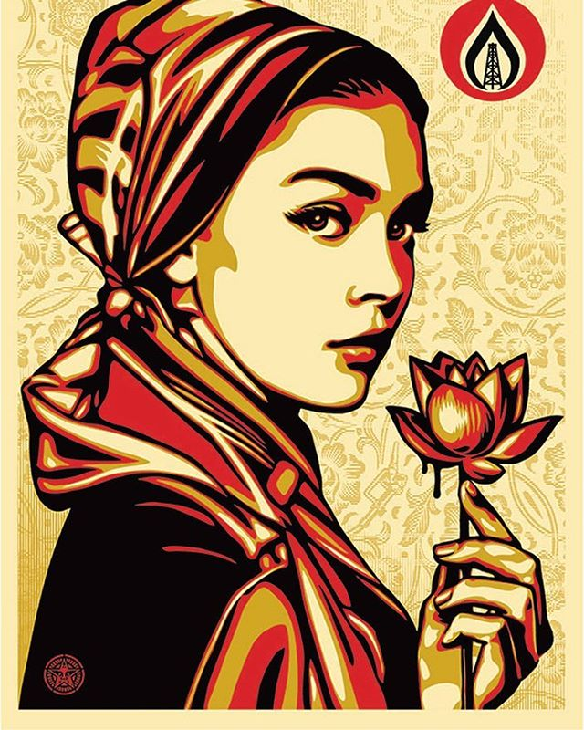 Obey Giant Shepard Fairey #streetart #art #obey #obeygiant #shepardfairey #streetarteverywhere #amsterdam #amsterdamcity #amsterdaminstagram #amsterdamartfair2017 #artfair #amsterdaminternationalartfair #aiaf #aiaf2017 get your free tickets online (link in bio)
