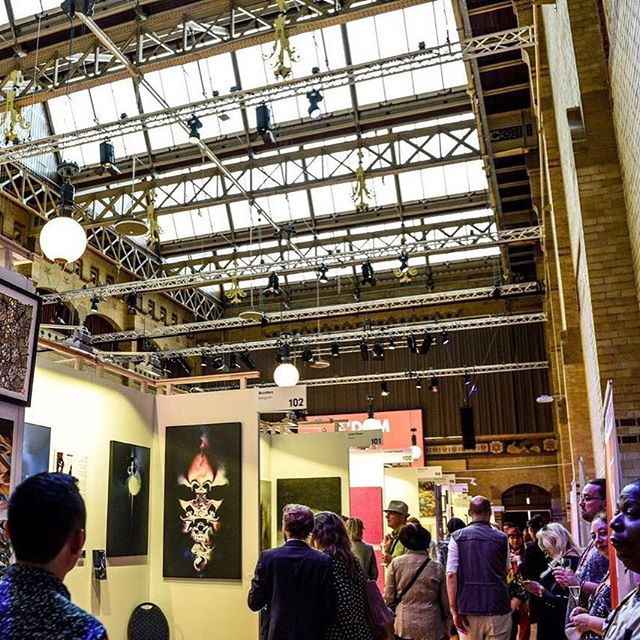 Amsterdam International Art Fair 2017 Beurs van Berlage. Another success ⭐️ #amsterdam #amsterdamcity #amsterdamartfair #amsterdaminstagram #amsterdamartfair2017 #amsterdaminternationalartfair #aiaf #aiaf2017 #beursvanberlage #art #kunst #artfair #artcollector #review #thankyou