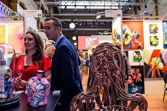 Amsterdam International Art Fair 2017 Beurs van Berlage. Another success ⭐️ #amsterdam #amsterdamcity #amsterdamartfair #amsterdaminstagram #amsterdamartfair2017 #amsterdaminternationalartfair #aiaf #aiaf2017 #beursvanberlage #art #kunst #artfair #artcollector #review #thankyou