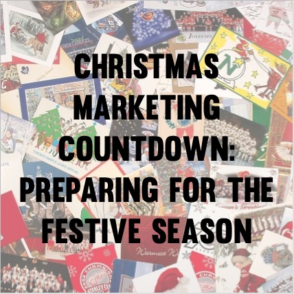 Christmas marketing countdown