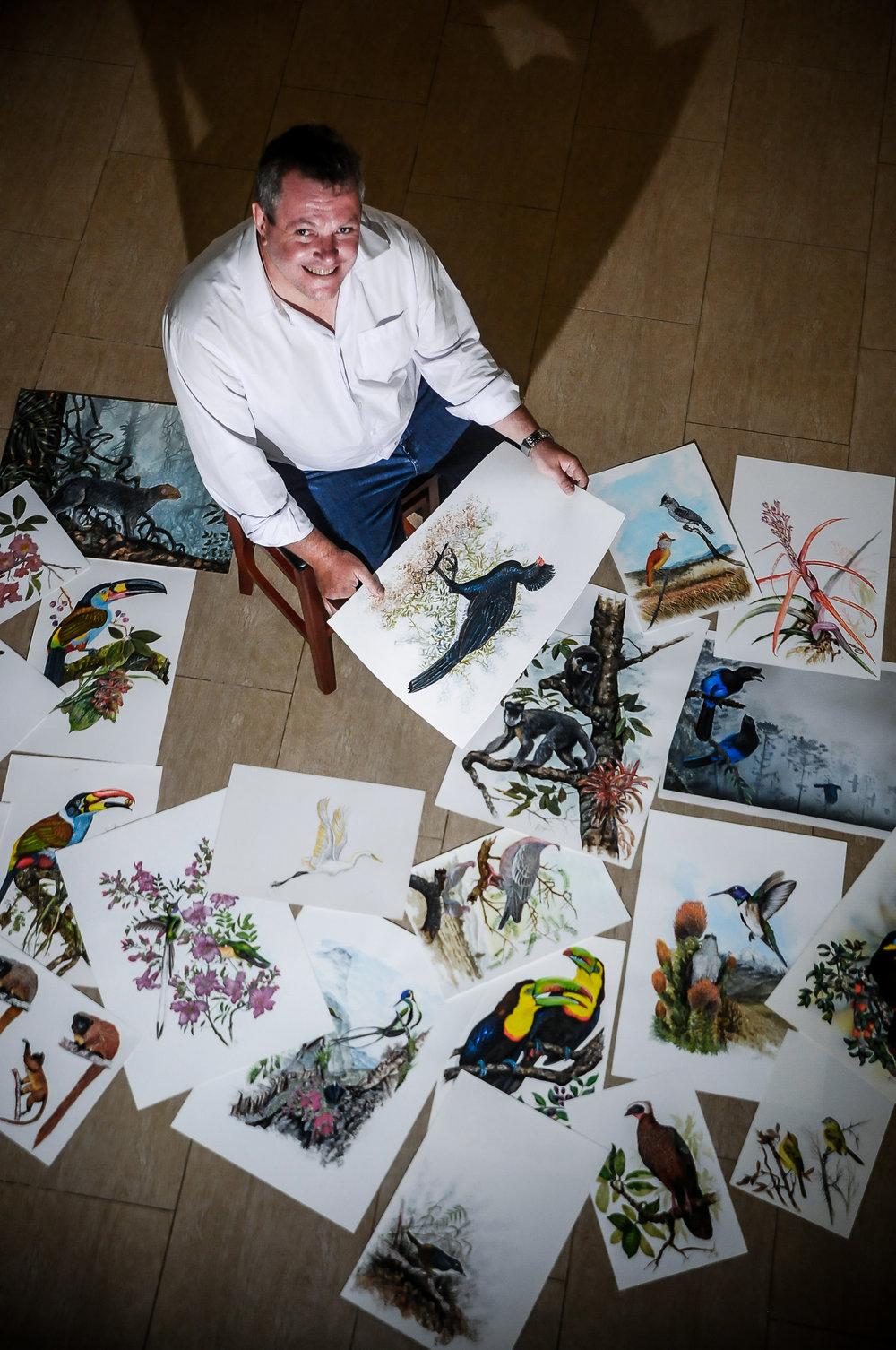 Artist Tomas Sigrist