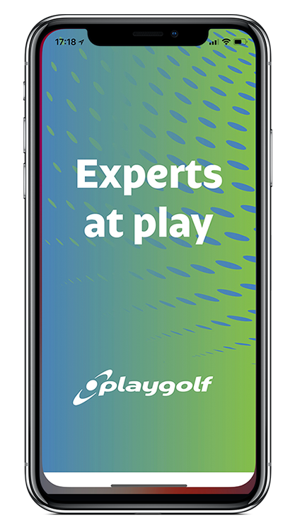 Branded App powering Playgolf