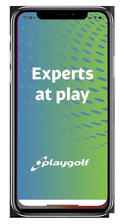 Branded App powering Playgolf
