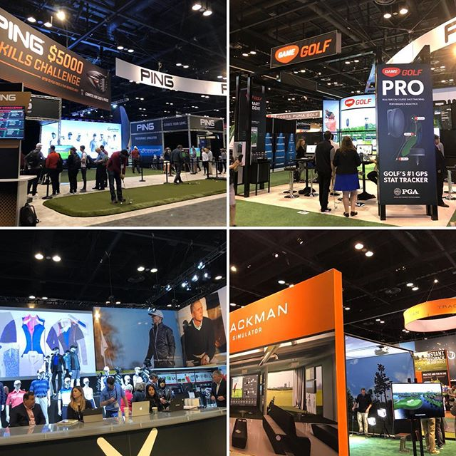 Great @pgagolfshows this past week. Booth next year! #golfcoach #pga #golftech #lovegolf