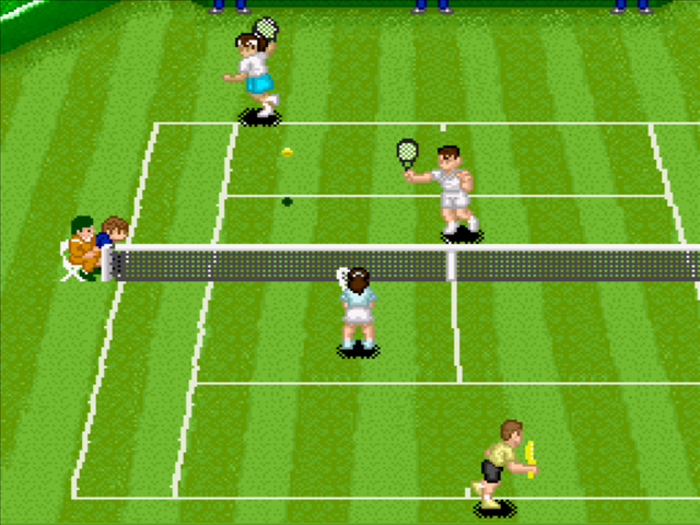 A retro sports classic. Super Tennis!