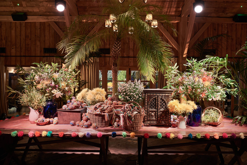Peruvian Gala Dinner and Party in hounor of Mario Testino   Set Design: Andrew Tomlinson