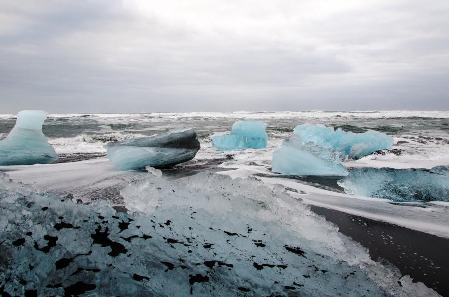 Jökulsárlón Glacier Lagoon, Iceland, 2015.