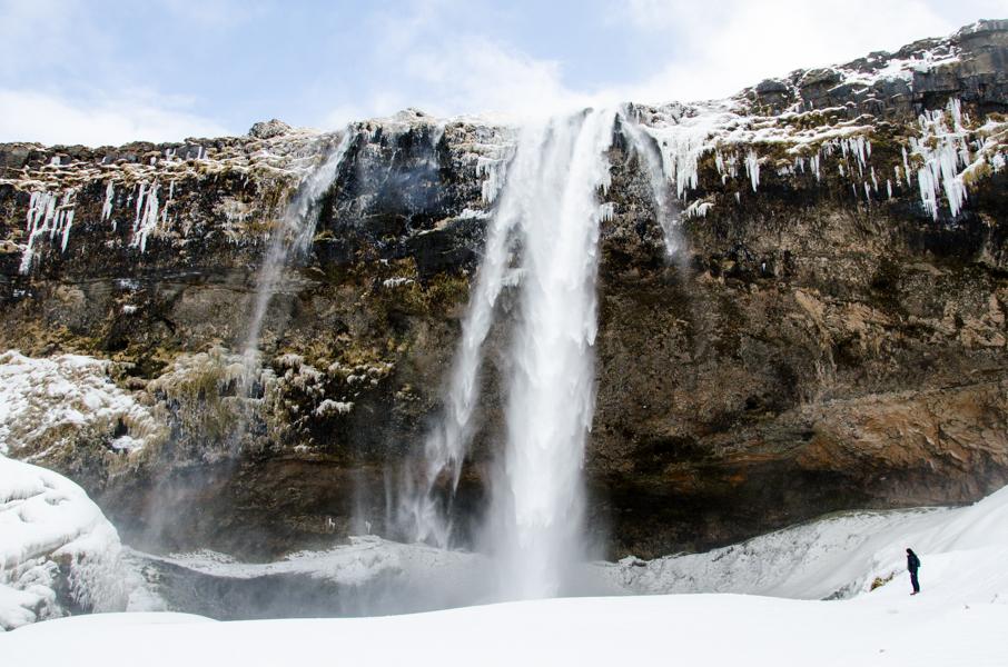 Skógafoss waterfall. Iceland, 2015.