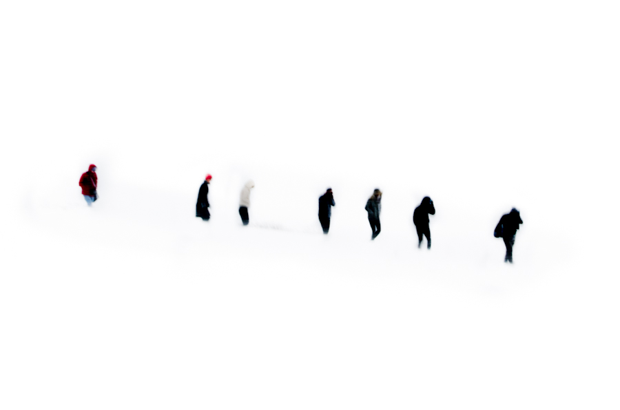 Cold silhouettes. Iceland, 2015.