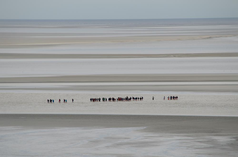 Baie du Mont-Saint-Michel, Normandie, 2015.