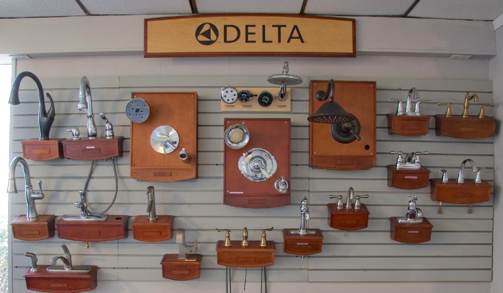 Delta Faucet Display
