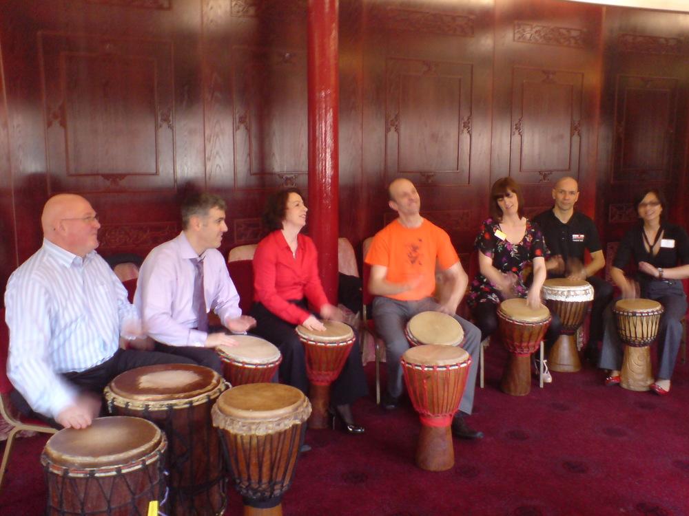 Manchester Drum circle seminar