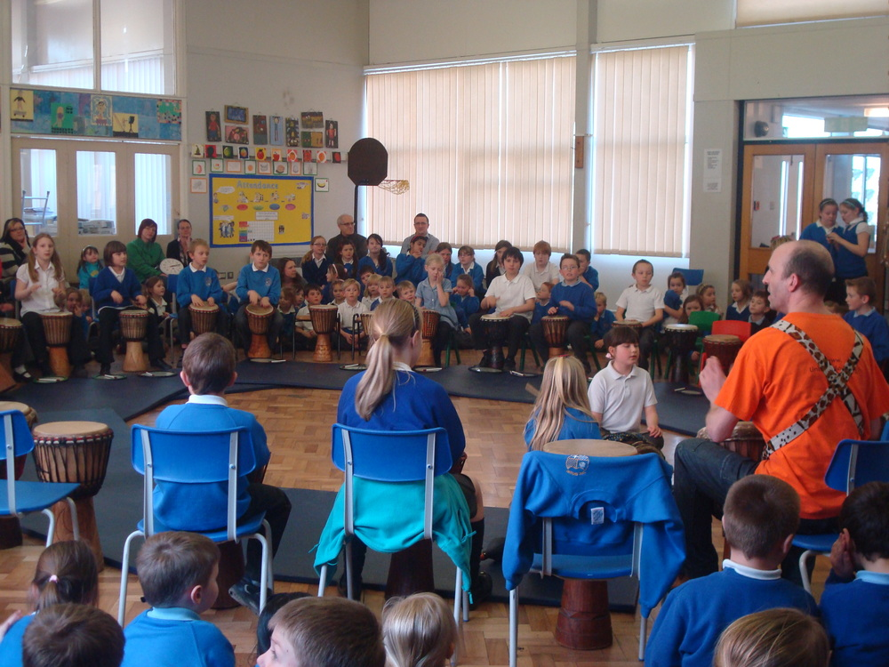 West African Drumming workshops for school arts weeks