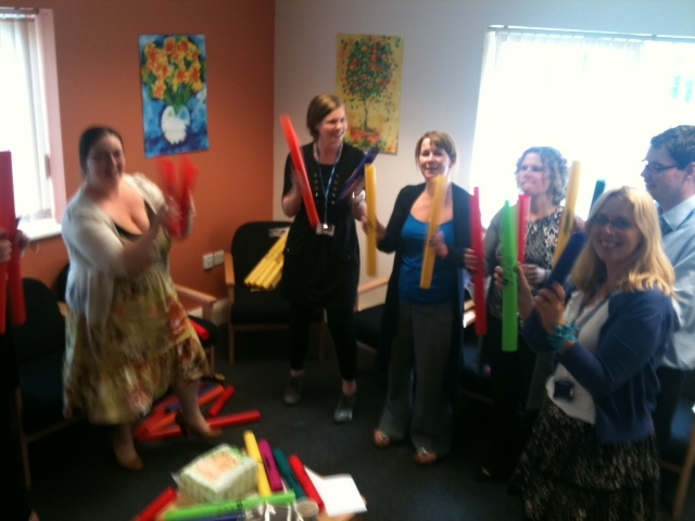 Music Teacher training in Primary Schools with Boomwhackers