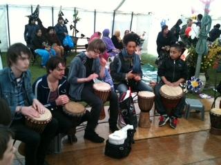 Bradford Mayla Finale Drum circle