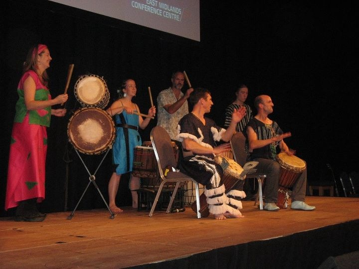African Drumming in Nottigham and the East Midlands