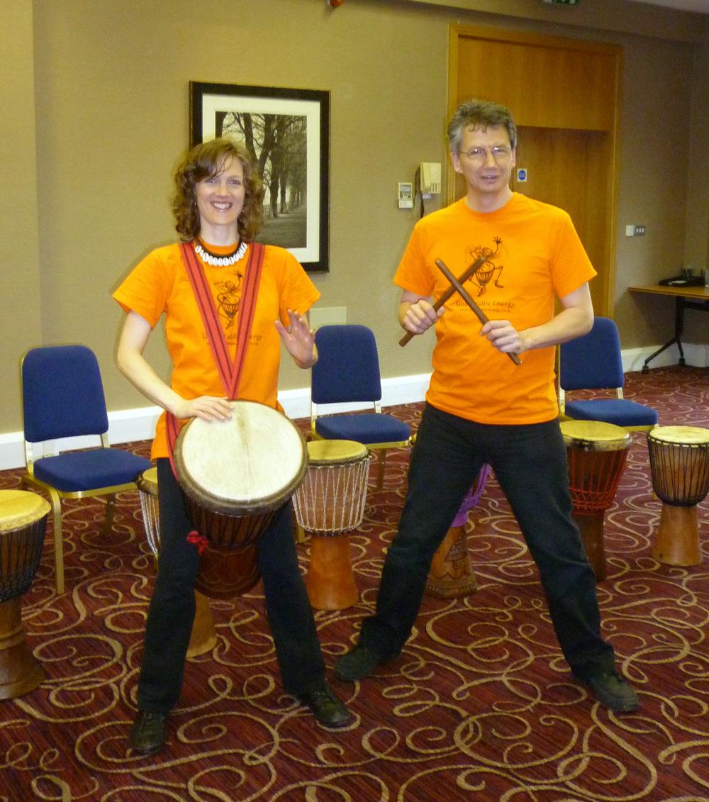 Drumming Team Building at Milton Keynes