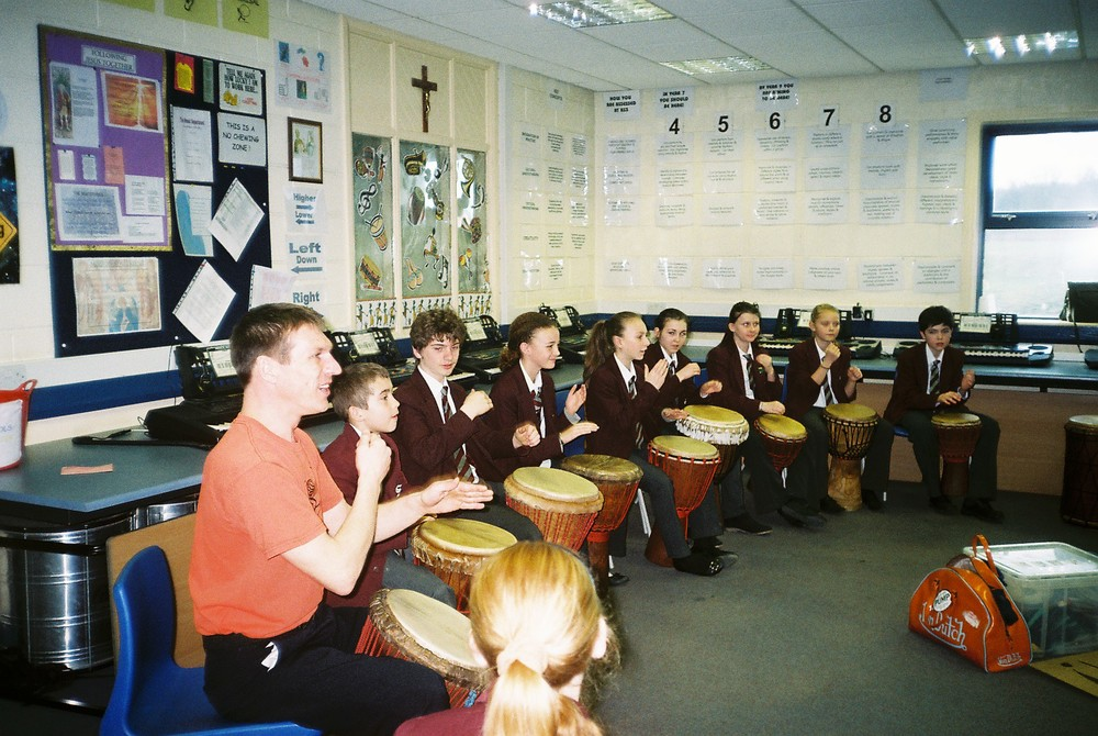 African Drumming Workshops for School Enrichment Days and Arts Weeks, Yorkshire