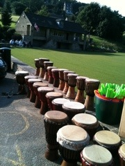 African Drumming Team building Events in Warwickshire and Leicestershire