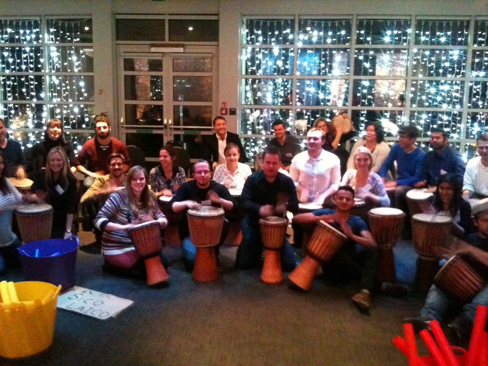 Drumming Team Building Events in London