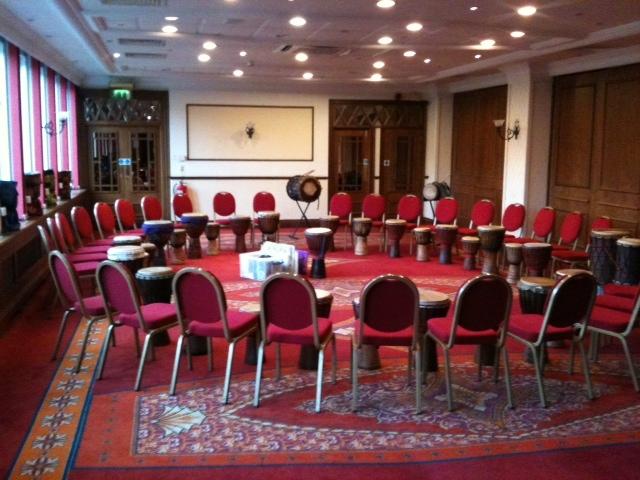 Drumming Team Building Events in Warwickshire