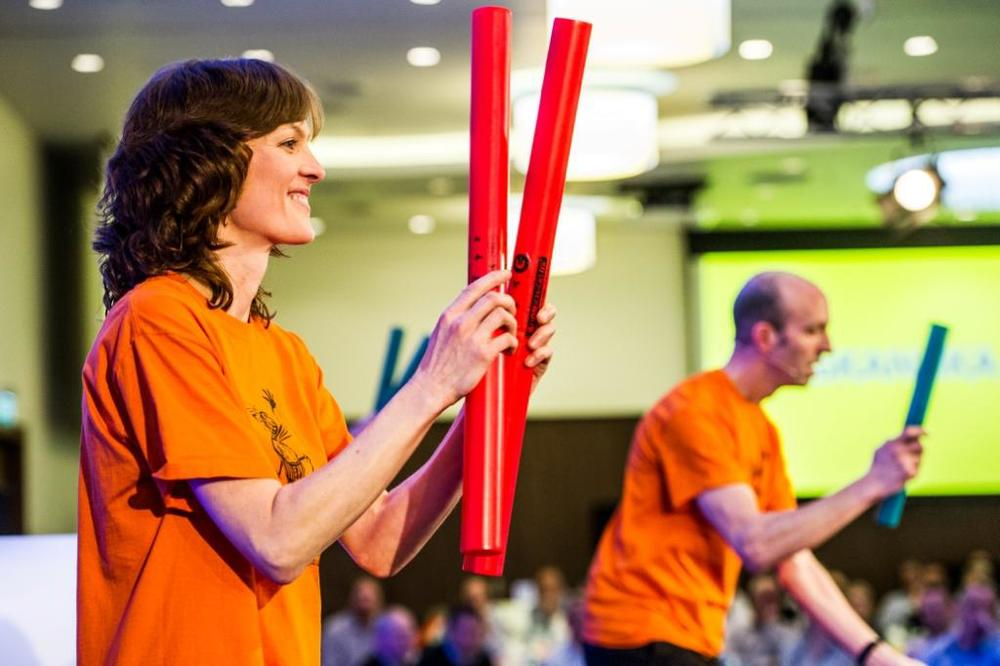 Boomwhacker Conference Ice Breakers