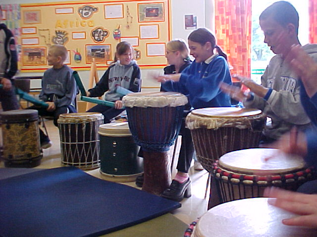 African Drumming Workshops for Schools in Doncaster