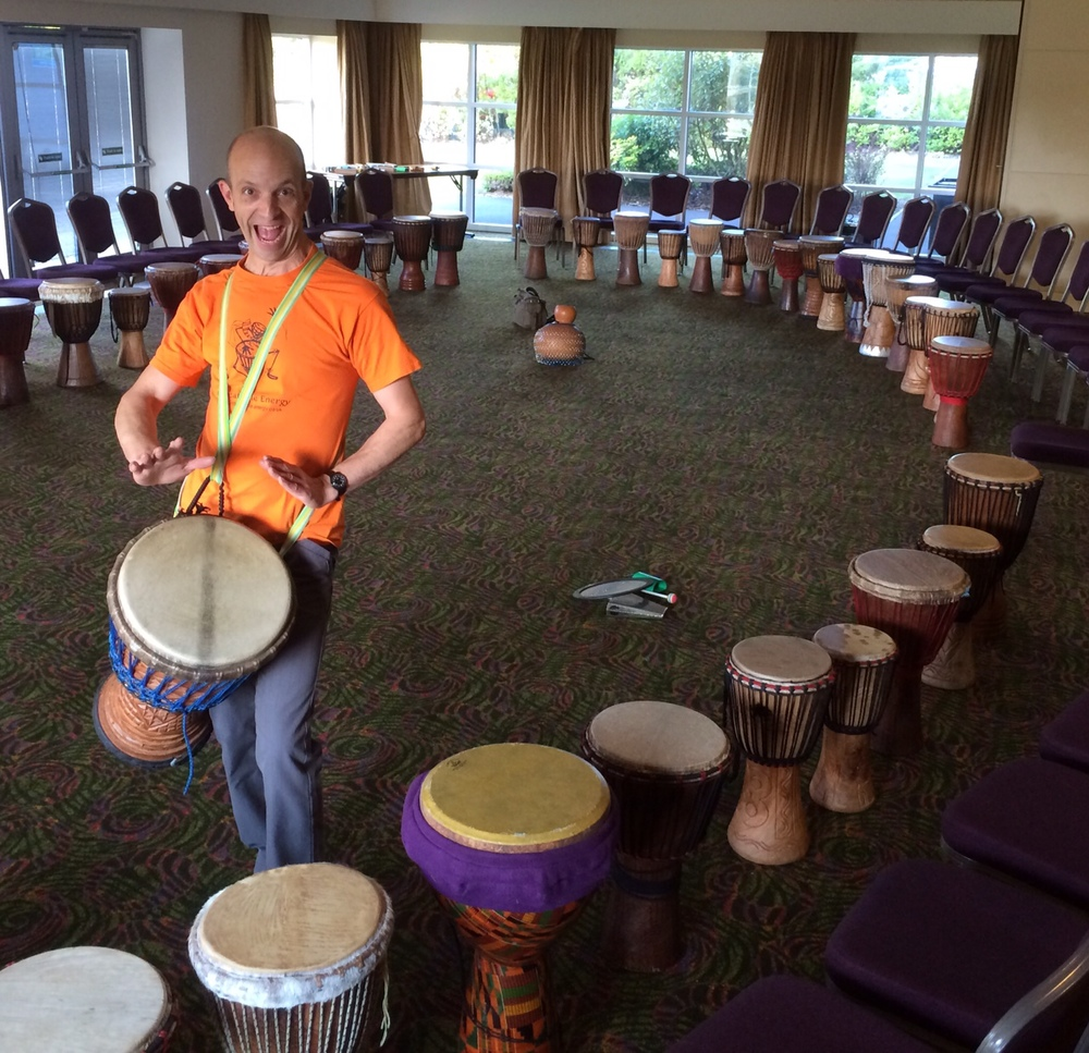 Drumming Team building Session with Molnlycke Health Care
