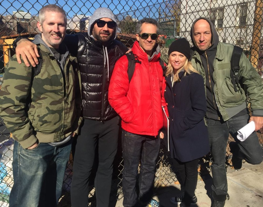 Bushwick Movie - Dave Bautista, Brittany Snow, Cary Murnion, Jonathan Milott, Urs