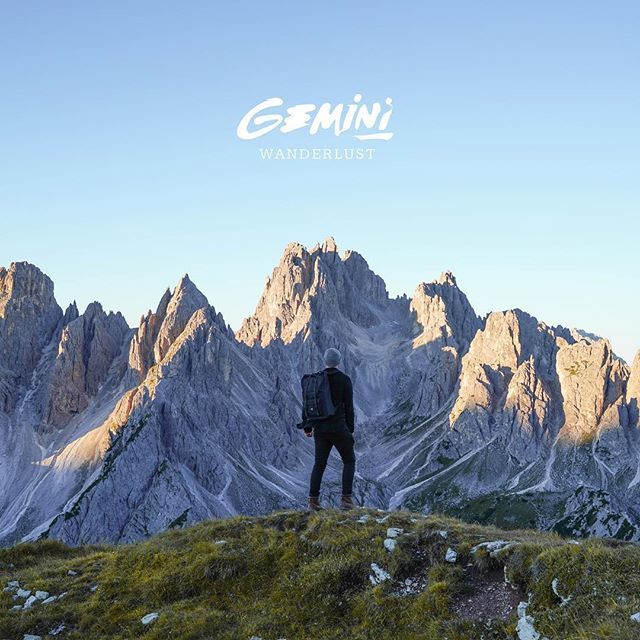 My debut album 'Wanderlust' is out now. http://gemini.lnk.to/wanderlust