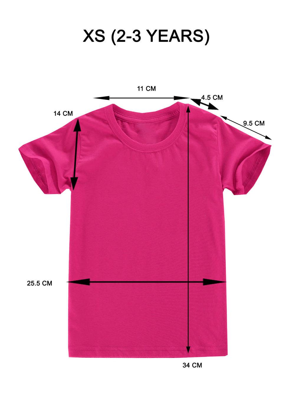 T Shirt Hot Pink XS.jpg