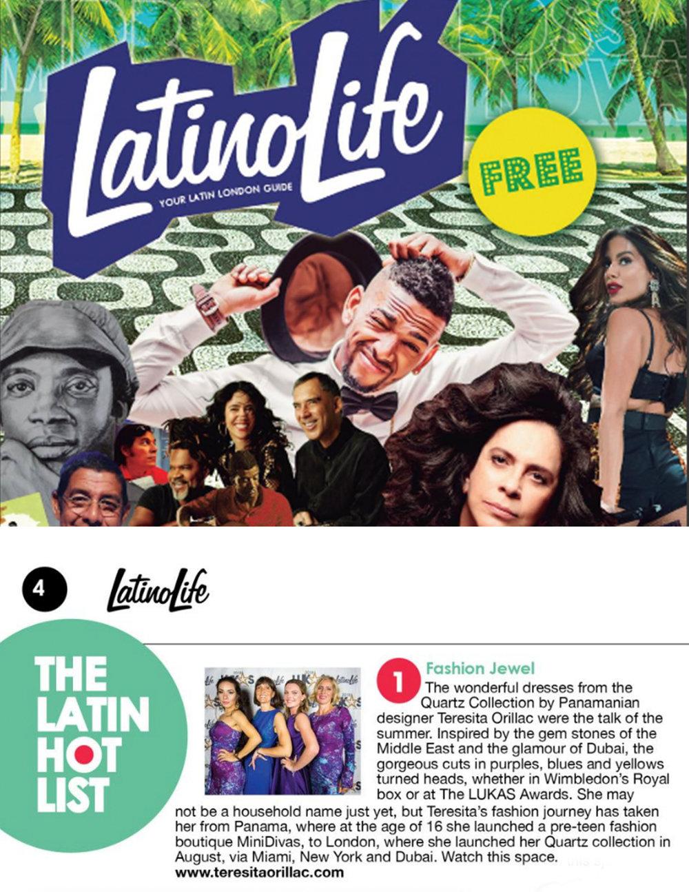 Latino Life Magazine November 2018