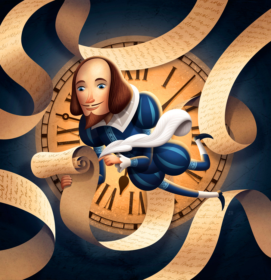 TIME TRAVELING SHAKESPEARE